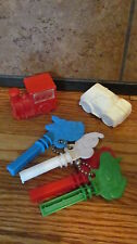 VINTAGE MICKEY MOUSE BABY TOYS - PLASTIC KEYS / CARS