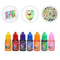 Art Ink Natural Pigment Colorant Dye Ink Diffusion Making UV Jewelry Epoxy