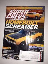 Super Chevy Magazine Homebuilt Screamer Bench Seats April 2015 030717NONRH