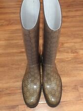 18053aa0935 GUCCI wellington boots size 8 uk eu41 used once excellent condition