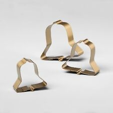Hearth & Hand with Magnolia Stainless Steel Bell Cookie Cutters, Set of 3