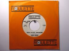 Ronnie Hawkins Roulette 4502 Promo High Blood Pressure b/w Screw Loose The Hawks
