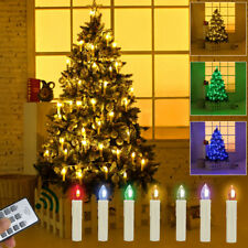 Kabellose Weihnachtsbeleuchtung Innen.Kabellose Led Weihnachtsbaumbeleuchtungen Günstig Kaufen Ebay