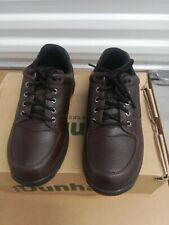 Dunham Men's Windsor, Brown Polished Oxford Dress Shoe, 6E, Size 9.5