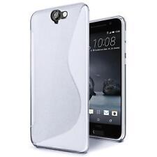 Handy Hülle HTC One A9s Silikon Case Slim Cover Schutz Hülle Tasche Transparent
