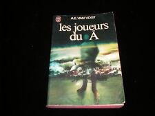 A E Van Vogt : Les joueurs du A J'ai Lu 1974/1977 BE plis