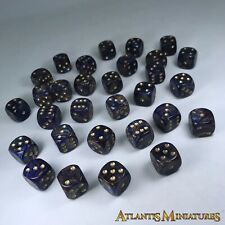 Unusual Playing Dice 14mm - D6 Board Game RPG Wargame D28