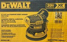 "Dewalt DCW210B 20V Max XR Brushless 5"" Random Orbital Sander New (Tool Only)"