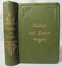 Blüthen und Perlen deutscher Dichtung. Für Frauen ausgewählt.. 1857