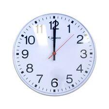 "300mm (12"") Wall Clock White 15mt View - Jadco"