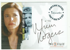 X-Files Connections Autograph Card A-3 Mimi Rogers as Diana Fowley Auto A3