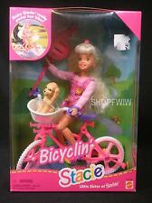 HTF Vintage Mattel Bicyclin' Stacie Little Sister Of Barbie 1996 Really Pedals