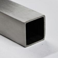 Alu Quadratrohr Vierkantrohr Aluminium 40x40x2mm 1meter
