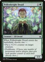 4x Pollenbright Druid ~ War of the Spark Elf Green ~ MTG MAGIC NM  EDH Playset