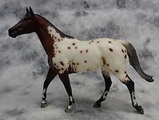 Breyer * Bonne Fete *711183 Breyerfest Carrick Appaloosa Traditional Model Horse