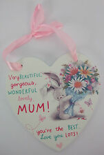 Mum Gift Wall Plaque Bebunni BEB111