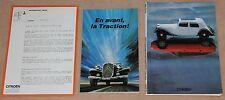 (39A) PRENSA 50 AÑOS CITROEN TRACCIÓN ANTES 1934-1984 (CABRIOLET etc)