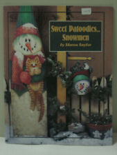 Sweet Patoodies Snowmen Sharon Saylor Decorative Tole Painting Book Snow Winter