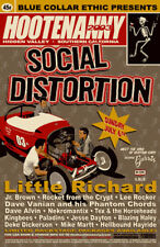 MINT 2003 SOCIAL DISTORTION LITTLE RICHARD SOUTHERN CALIFORNIA CONCERT HANDBILL