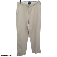 Polo By Ralph Lauren Philip Pant Casual Chino Khaki Pants 100% Cotton Mens 36x34