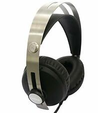 Multimedia H 60 Over Ear Headphone Black AUX Audio Input Wired Calling Head Band