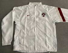 PORTUGAL NIKE WORLD CUP 2006 WOVEN SUIT JACKET MENS LARGE