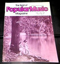 The Best Of Popular Music Magazine June-July 1977 Vol 5 No. 4 Piano-Vocal-Guitar