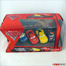 Disney Pixar Cars Racing 4 Pack Ronnie McQueen Gorvette Schnell Target set