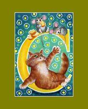 "Alphabet Cat ACEO Print Letter ""C"" by I Garmashova"
