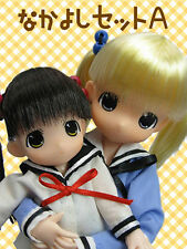 MAMACHAPP Little moko & Big Moko buruu Chan 1 pair Set A Azone Doll RARE