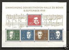 WEST GERMANY # 804 BEETHOVEN HALL COMPOSERS MUSIC