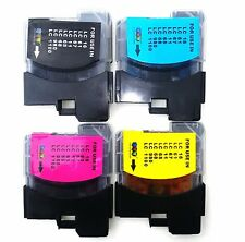 PACK OF [ ANY 4 ] INK CARTRIDGES FOR BROTHER  DCP-195C  DCP195C INKJET PRINTER