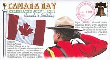 COVERSCAPE computer designed Canada Day cover