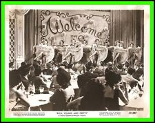 """JANE POWELL in """"Rich, Young and Pretty"""" Original Vintage 1951 - DANCING CAN CAN"""