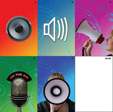 Recordable Voice Birthday Greeting Card - up to 30 Second Audio Blank A5