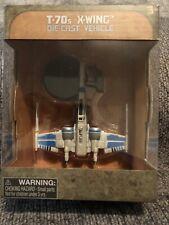 DISNEY Parks STAR WARS GALAXY'S EDGE DIE CAST VEHICLE T-70S X-WING
