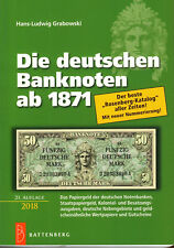 6002: Die deutschen Banknoten ab 1871, Hans-L. Grabowski