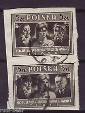 3 Polen Nr 3227-28 Gest Polnische Herrscher Boleslaw Waedyslaw