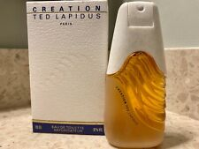 Creation by Ted Lapidus for Women 3.3 oz EDT Spray - Vintage, in New in Box