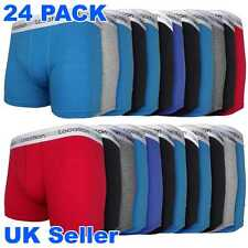 Mens 6 / 12 / 24 Pack Location Boxer Shorts Trunks Gift Underwear Cotton Boxers