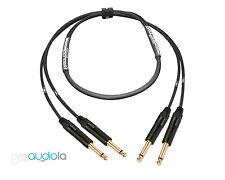 Premium 2 Channel Mogami 2930 Instrument Cable | Neutrik Gold TS to TS | 40 ft.