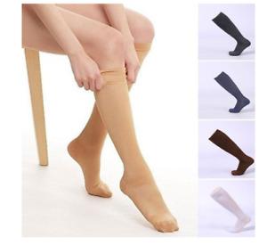 Unisex Compression Socks Anti swelling & Fatigue Leg Foot Calf Support Stockings