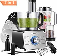 Food Processor Multifunctional, 1100W Blender Food Processor. With Extras