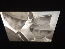 "Edward Steichen ""Self Port W Sister"" Glass 35mm Slide Early American Photography"