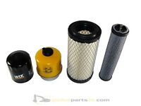 JCB 8014, 8015, 8016, 8017, 8018 Filter Kit Perkins 403C-11 Engine