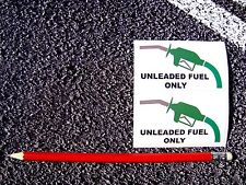 Unleaded Fuel Only Warning Stickers Decals Cars Taxi Ford Fiat Vauxhall Bmw Audi