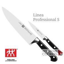 Zwilling set 2 coltelli cucina cuoco professionali forgiati e rivettati