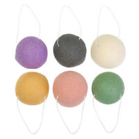 Women Face Wash Cleanse Sponge Puff Exfoliator Natural Konjac Konnyaku Fiber