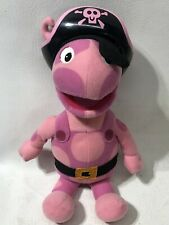 Uniqua Backyardigans into the thick of it plush pirate *as is read