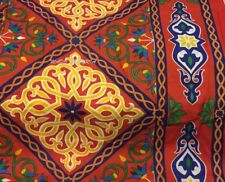 Red Pavilion Tent Cloth Fabric Material Table cloth قماش خيام شوادر غطاء طاولة
